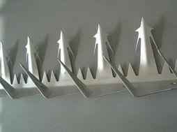 China wall spike--Galvanized or PVC Coated Wall Spikes--galvanized steel Wall spikes on sale