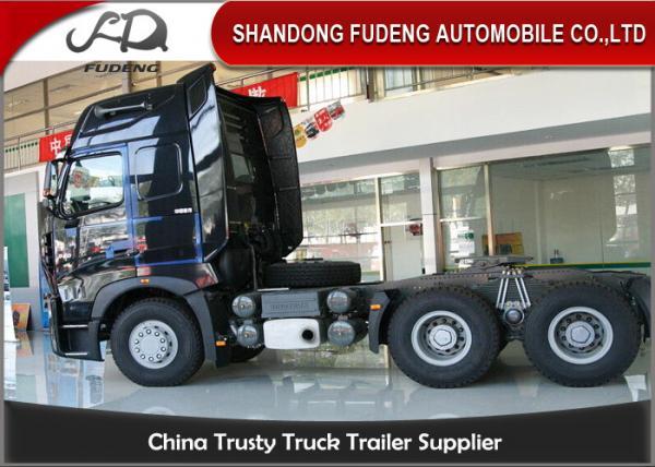 Howo A7 Tractor Head Trucks With One Beth 10 Wheerler 420 Horse