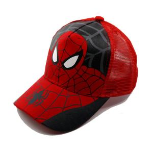 China Durable Kids Spiderman Baseball Cap , Cool Design Toddler Boy Baseball Caps on sale