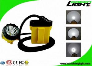 China IP68 25000lux LED Mining Lights Anti Explosive 348lum 10.4Ah SAMSUNG Battery on sale