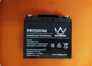 China Deep Cycle Lead Acid Batteries 12v 18ah For UPS and solar and inverter on sale