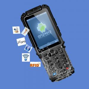 China Portable rugged android PDA TS-901 with barcode scanner / RFID reader on sale