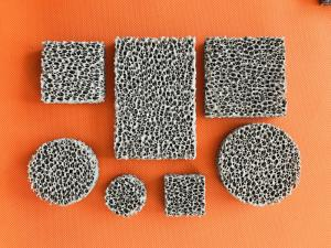 Quality High Porosity Sponge Filter Material Three Dimensional Connected Mesh Structure for sale