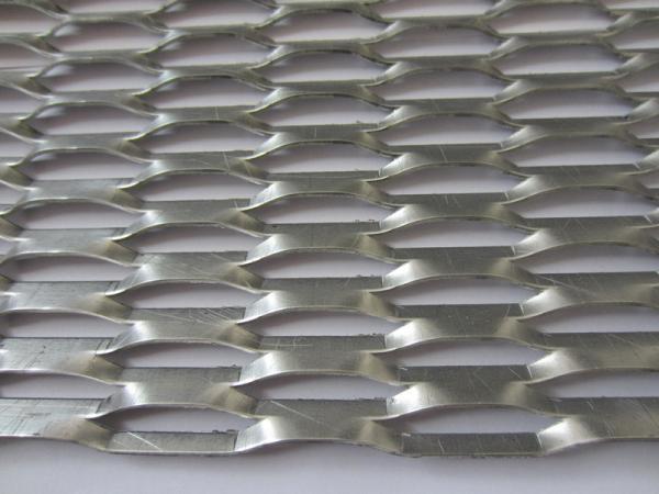 Louver Mesh Aluminum Expanded Metal Mesh 76mx16mm Strand 6