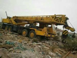 China Cheap 50 Ton Used Mobile Crane , QY50B Used XCMG Truck Crane , Original From China Made on sale