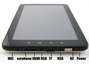 China Cheapest 10inch capacitive touch screen Cortex A9 512MB 4GB HDMI 10-C91 tablet PC on sale