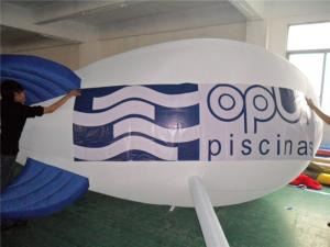 China White Helium Inflatable Airship Inflatable Advertising Balloons Inflatable bouncer on sale