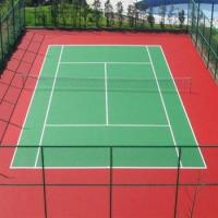 China PU Sport Court Surface , Resurfacing Tennis Court All Weather Outdoor Flooring  on sale