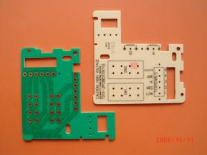 China HAL, Immersion Gold Cooper Base RoHS 1 L PCB CEM - 3 Single Sided LED PCB assembly Board on sale