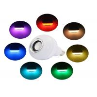 Dimmable Colorful Audio Bluetooth Music Light Bulb Wireless For Home
