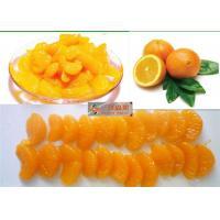 China Sweet Organic Canned Fruit Navel Oranges In Light Syrup 312g Whole Orange Segments on sale