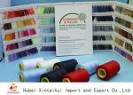 30/3 100% Polyester Sewing Yarn / Sewing Machine Yarn With Paper / Plastic Cone