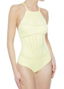 China Fashion Backless style one piece swimwear nylon fabric for women hot sale on sale