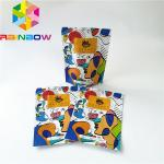 Stand Up Ziplock Plastic Pouches Packaging , Reusable Aluminum Foil Coffee Bag