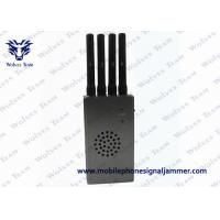 High Integration Mobile Phone Signal Jammer , Jammer Signal Blocker With Carry Case