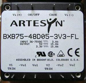 China EXB50-48D05-3V3ND2 - ARTESYN – DC/DC CONVERTERS,50W High Efficiency Converters on sale