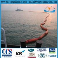 PVC Flotation Oil Boom Solid Floating PVC Containment Boom
