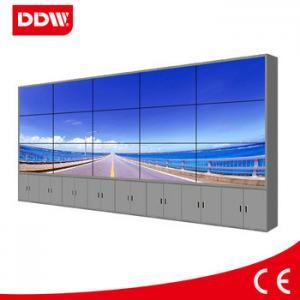 China Narrow bezel lcd video wall display LED 5.3mm HDMI DVI VGA AV YPBPR IP RS232 1920*1080 on sale