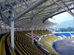 鋼管のトラスによって採用される鉄骨構造の製作の大きいスパンの競技場