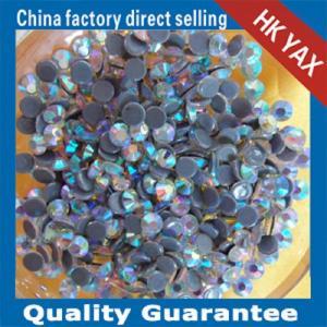 China YAX swainstone high quality rhinestone crystal AB color 3mmSS10 highest quality hotfix rhinestone on sale