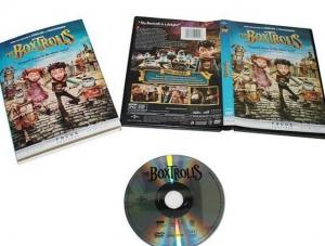 China Digital Copy Blu Ray Dvd Box Sets Boxtrolls Disney Collection With English Subtitle on sale