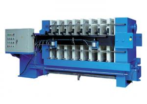 China Automated Tilting Plate And Frame Filter Press 0.8 Mpa Plate Size 1500mm on sale