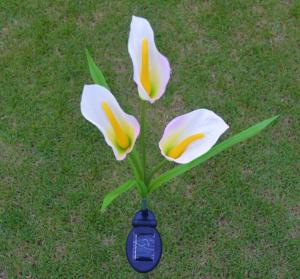 China Solar Flower Lights - Outdoor Waterproof LED Flowers Calla Lily for Garden, Path, Landscape, Patio, and Lawn on sale