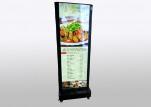 China Portable 6CM / 10CM Fabric LED Light Box Double Side With Edge Light Source on sale