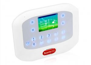 China Wireless Home Alarm Systems  GSM PSTN 50 Wireless Zones Support Android iOS APP on sale