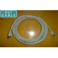 China Gray Shielded CAT 5E Gigabit Ethernet Cable For GigE Vision Chain Flex 5.0 Meters on sale