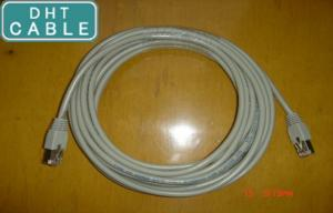 China Shielded CAT 5E Gigabit Ethernet Cable for GigE Vision Chain Flex 5.0 Meters on sale