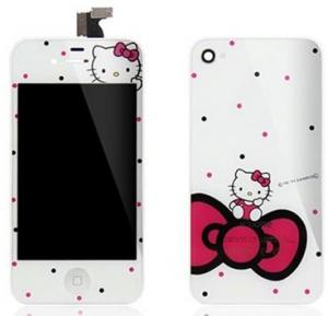 China iPhone 4S white Hello Kitty Conversion Kits on sale