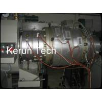 16 - 800mm Waste PVC Pipe Extrusion Machine / Extrusion Line PLC