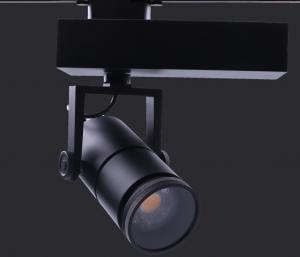 China Matt Black , 6063 Aluminum , 15-60 Degree Adjustable , 5 Years Warranty , 15W LED Track Light on sale