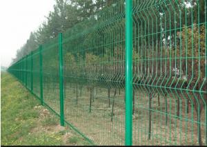 China Vandal Resistant Welded Mesh Fence Heavy Gauge Wire Mesh Powder Coating on sale