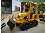 New Streamlined 35hp Mini Bulldozer Manual Clutch Compact Dozer with Six-Way Blade