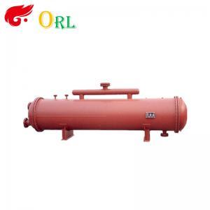 China Energy Saving Floor Standing Boiler Mud Drum , Grey High Pressure Drum on sale