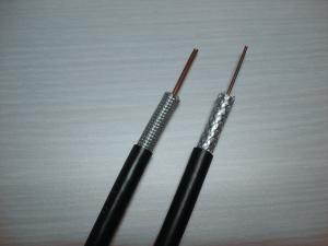 China High Voltage Shielded Hdtv RG11 Coaxial Digital Audio Cable / 75 Coaxial Cable on sale