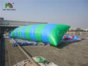 China EN14960 0.9mm pvc Funny Inflatable Water Parks Toy / Inflatable Blob Bouncer on sale