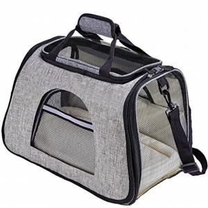 China Soft Sided Airline Approved Pet Carrier Bag With Replaceable Skin Covers on sale