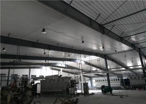 China Construction design large span color coated Philippines light steel structure industrial workshop on sale