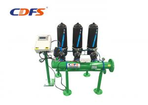 China Backwashing Control Drip Irrigation Filter , Industry Irrigation Water Filter on sale