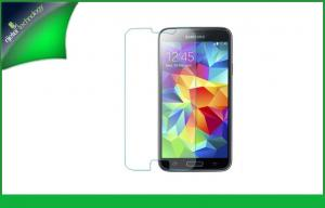 China Tempered Glass Galaxy S5 Cell Phone Screen Protector 0.2mm Touch Smooth on sale