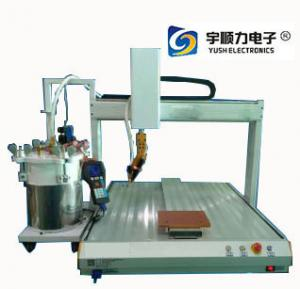 China Intelligent Rotary Head Glue Dispensing Machine Needle Tubing 2.6 L Glue Bottle on sale