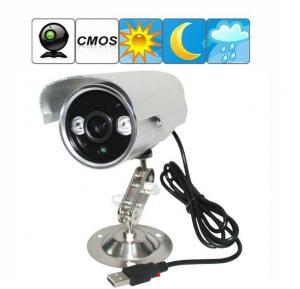 China K908 Double Lamp Array IR LED Night Vision Waterproof CCTV Surveillance TF Card DVR Camera on sale