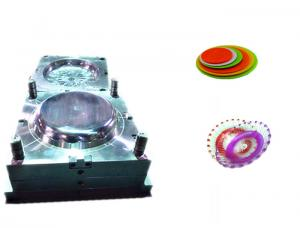 China Household Kitchen Dish Twin Plastic Bowl Mould , Cold Runner Home Appliance Mould on sale