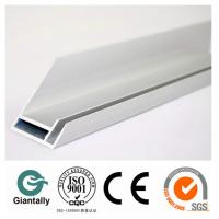 China 6000 series extruded white aluminium solar profile on sale