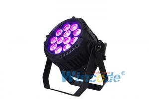 China Stage Effect Lighting LED Par Light DMX Control For HDTV Video Flicker Free on sale