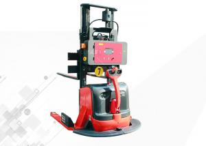 China 1.5T Maximum Capacity Laser Guided Forklifts AGV Material Handling Easy Maintaining on sale
