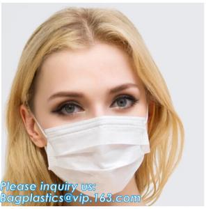 China medical consumables disposable 3 Ply Surgical Non-Woven Medical face masks,Non-woven 2ply /3 ply ear loop medical dispos on sale